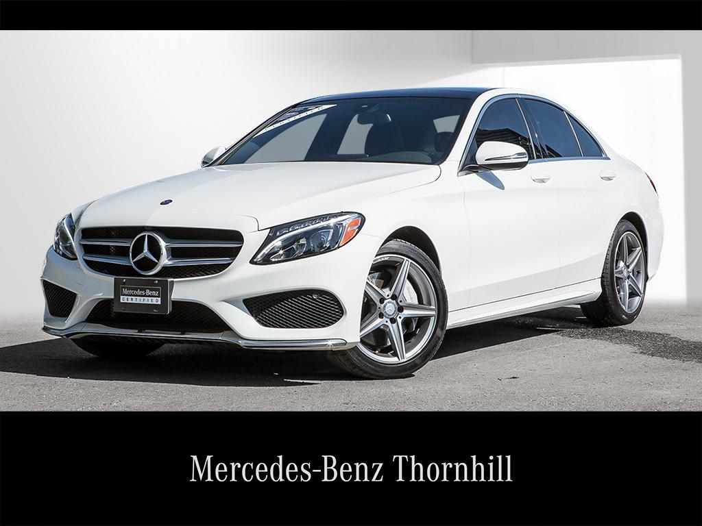 certified pre-owned 2017 mercedes-benz c-class c-class sedan in