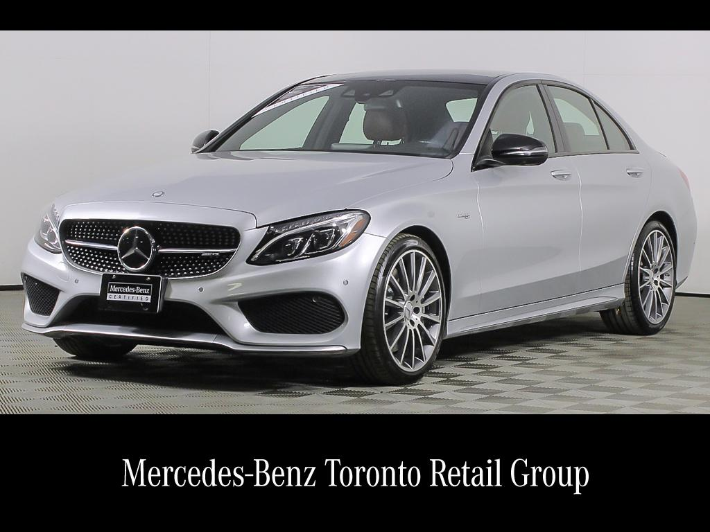 Certified Pre-Owned 2017 Mercedes-Benz C-CLASS C 43 AMG