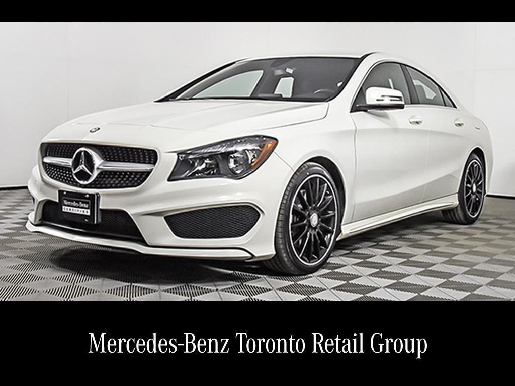 Certified Pre Owned 2015 Mercedes Benz Cla Cla250 Coupe In Thornhill