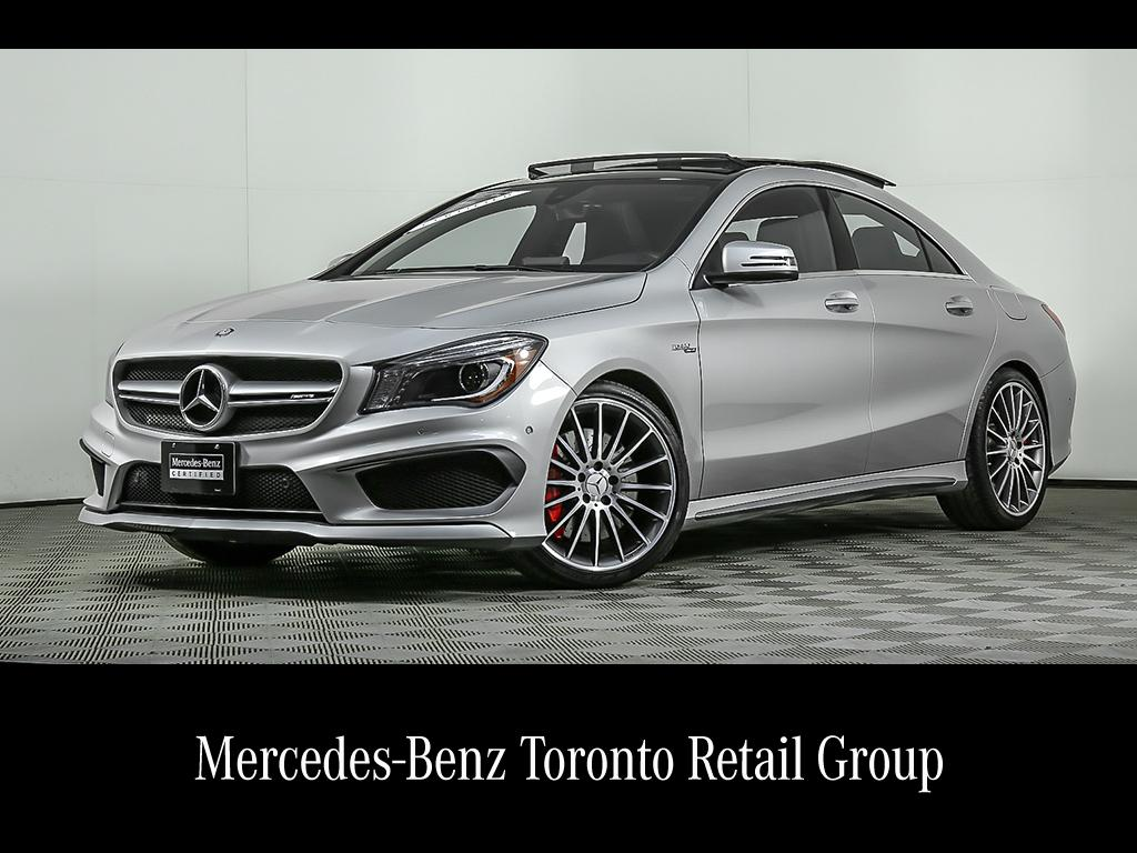 Uitgelezene Certified Pre-Owned Mercedes-Benz CLA | 2016 CLA 45 AMG Coupe JL-22